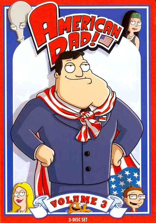 AMERICAN DAD VOL 3 BY AMERICAN DAD (DVD)