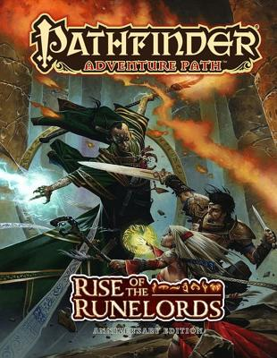 Pathfinder Adventure Path: Rise of the Runelords By Jacobs, James